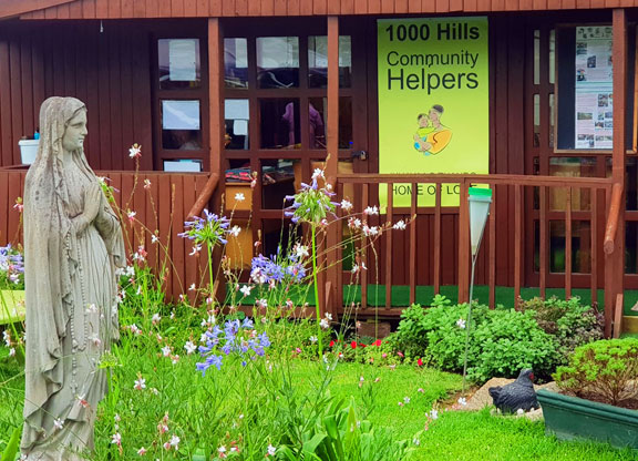 Entrance to 1000 Hills Community Helpers